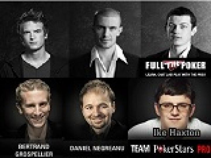 Gus Hansen vs Daniel Negreanu ou The Professionals vs Team Pro PokerStars