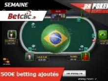 Poker Academie - World Cup #1 - 150€ de betting ajoutés sur Betclic