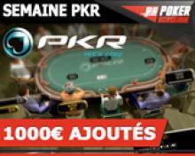 Freeroll Poker Académie 2 - 300€ ajoutés sur PKR
