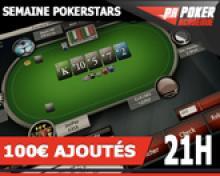 Freeroll Poker Académie 100€ ajoutés sur PokerStars