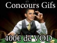 Concours de GIF - 400€ de VOD à gagner