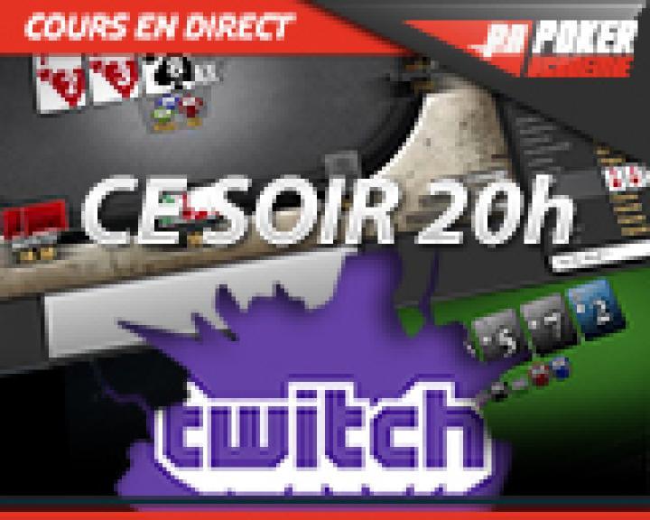 Benj vous donne rendez-vous sur Twitch ce soir à partir 20h