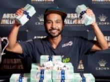 Aussie Millions 2017 : D'un satellite de 90€, à la victoire finale pour plus d'1 million de gains !