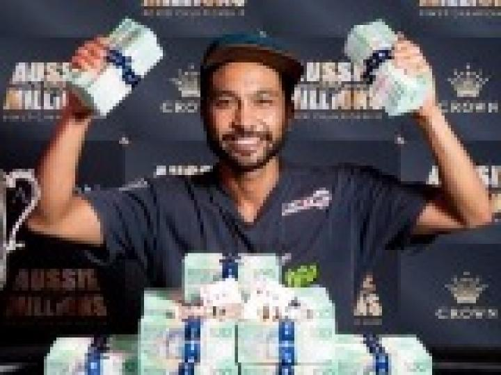 Aussie Millions 2017 : D'un satellite de 90€, à la victoire finale pour plus d'1 million de gains !
