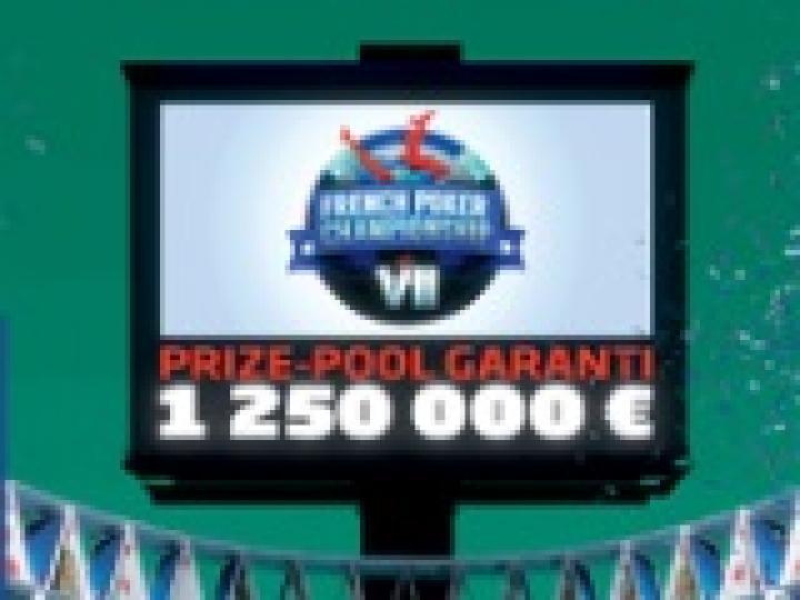 FPC VII du 23 février au 06 mars : 1.250.000€ garantis sur PMU Poker !