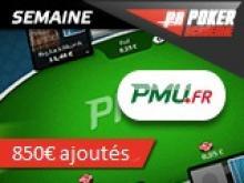 Semaine PMU spéciale FPC VII - 850€ de tickets pour les académiciens !