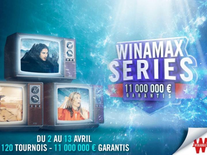 Winamax Series XVIII : 11 millions de garantis en avril