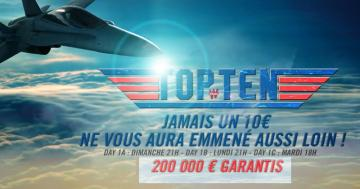 Top Ten de Winamax : Transformez 10€ en 200.000€ !