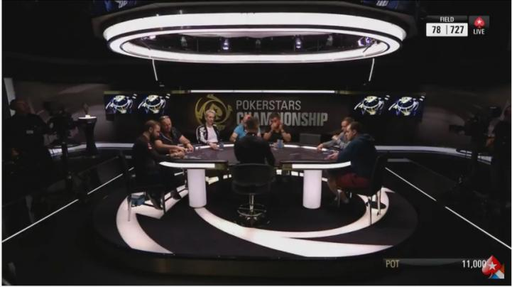 Elky et Negreanu en table TV du Main Event PokerStars Championship