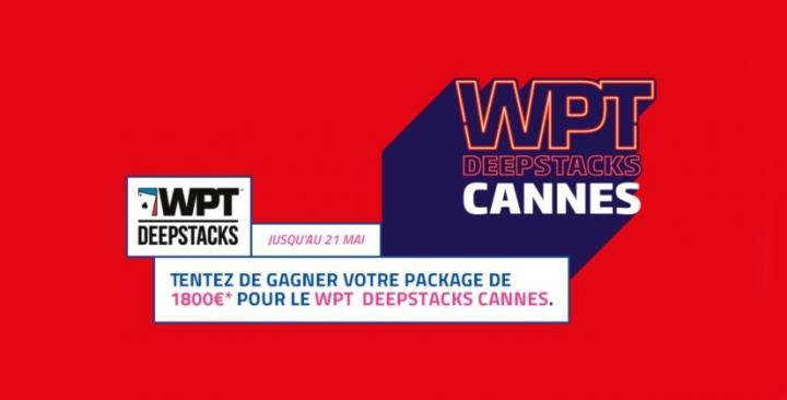 Dernières chances pour se qualifier pour le WPTDEEPSTACKS Cannes sur PMU Poker