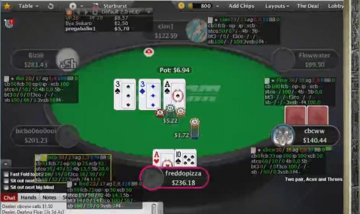 [Replay] Les sessions live de Bibibiatch #1 : Zoom100 sur PokerStars.com (1/2)