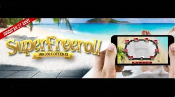 Winamax relance son freeroll à 100.000€ pour cet été