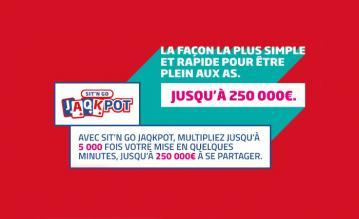 PMU booste ses SNG JAQKPOT : L'arrivée des 50€ et 250.000€ de jackpot