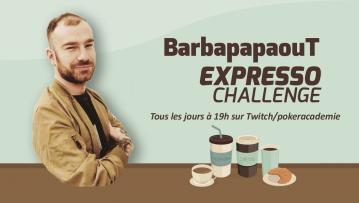 Le challenge expresso : Emission spéciale pour la dernière !