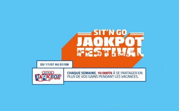 SNG JAQKPOT FESTIVAL : PMU Poker met en jeu 10.000 T€ chaque semaine