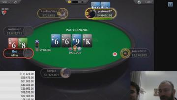 Scoop 1000$ Bounty : Review de la perf de Bibi feat Benj (120.000$ de gains) (2/3)
