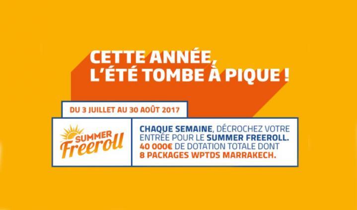 Summer freerool sur PMU : Un package WPT à gagner chaque mercredi !