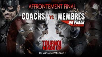 L'affrontement final : Les duels coachs vs membres peuvent commencer !
