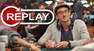 Replay de la première de Captain Poker !