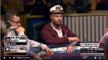 WSOP Europe : Le coach Bibibiatch au day 4 du Main Event !!!!