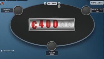 Muraille joue des Spin&Go 100€ en live