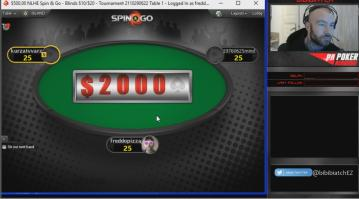 [Replay] Les sessions live de Bibibiatch #3 - Spin&Go High Roller à 500$ !