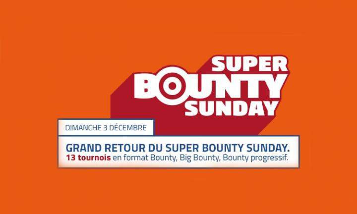 Super Bounty Sunday : Un dimanche KO sur PMU Poker