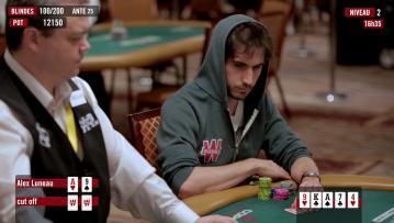Dans la tête d'un pro : Alex Luneau dans le 6-max Championship (10k$) des WSOP partie 3