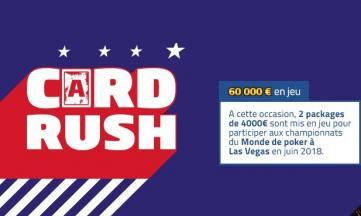 La promo Card Rush de PMU vous envoie à Las Vegas cet été !