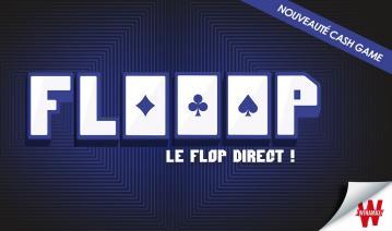 FLOOOP, la nouvelle variante sans flop de Winamax