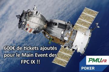 Poker Académie vous qualifie pour le Main Event des FPC sur PMU Poker (600€ de tickets ajoutés)