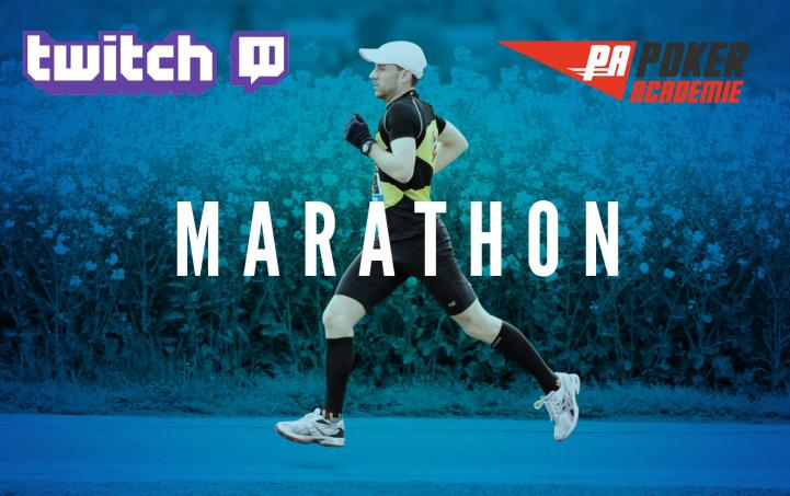 Marathon Twitch : 5 jours de streaming live 24h/24 !