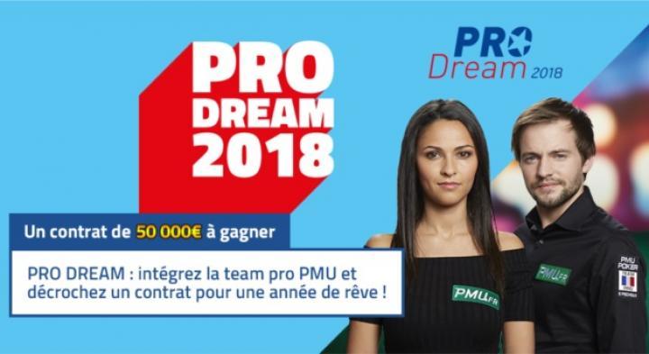 PRO Dream de PMU : Nouveau contrat de sponsoring de 50.000€ mis en jeu