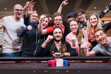 Davidi Kitai remporte le Super High Roller (25k$) du PartyPoker Million Barcelone !