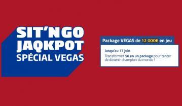 SNG JAQKPOT : PMU Poker vous envoie au Main Event des WSOP !