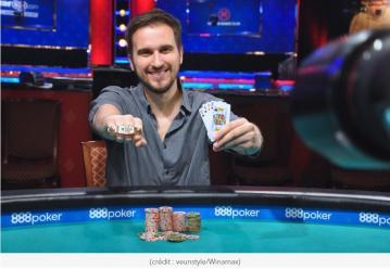 Victoire française aux WSOP : Julien Martini remporte le 1500$ Omaha Hi-Lo 8 or Better