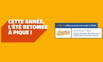 Summer freerool sur PMU : 20.000€ de tickets tournoi à gagner en juillet !
