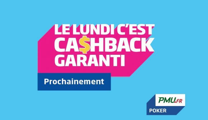 Ca$hback : Le nouveau programme de fidélité de PMU Poker