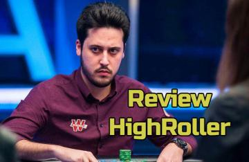 Mateos review son HighRoller Winamax (Partie 1 & 2)