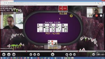 Pression ICM (partie 3 ) : Le jeu en head's up