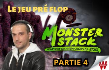 Etude du jeu Pré flop - Review d'un Monster Stack à 1€ (4/6)