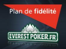 Nouveau Plan de Fidélité sur Everest Poker