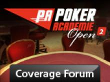 Coverage - Poker Academie Open 2