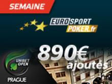 Semaines Eurosport:  Destination Prague - Unibet Open