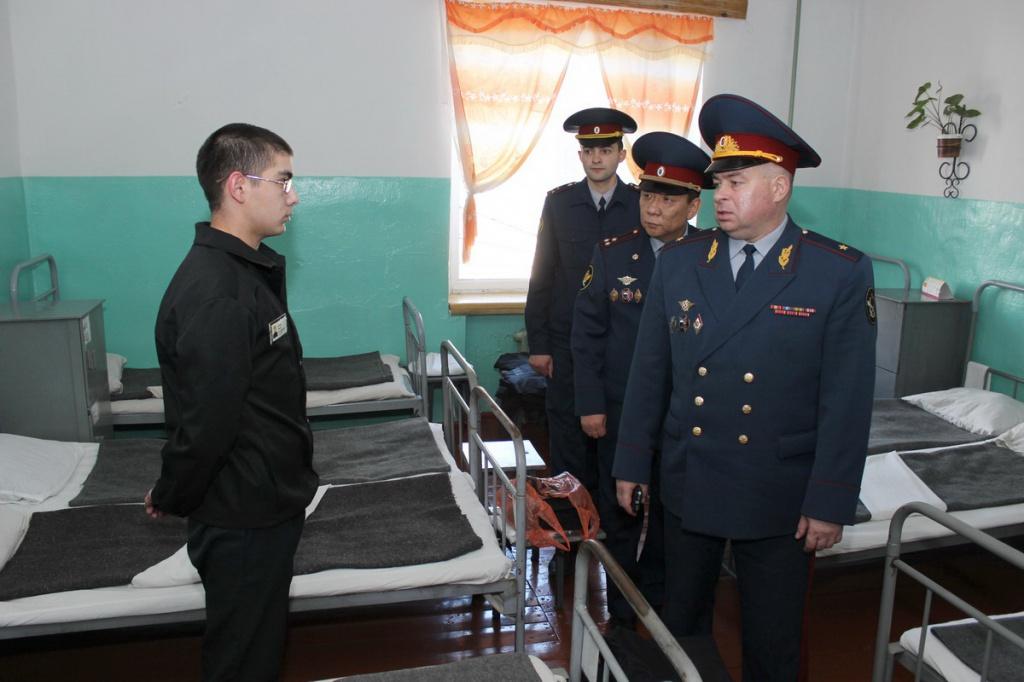 начальник УФСИН Забайкалья Николай Сангаджигоряев