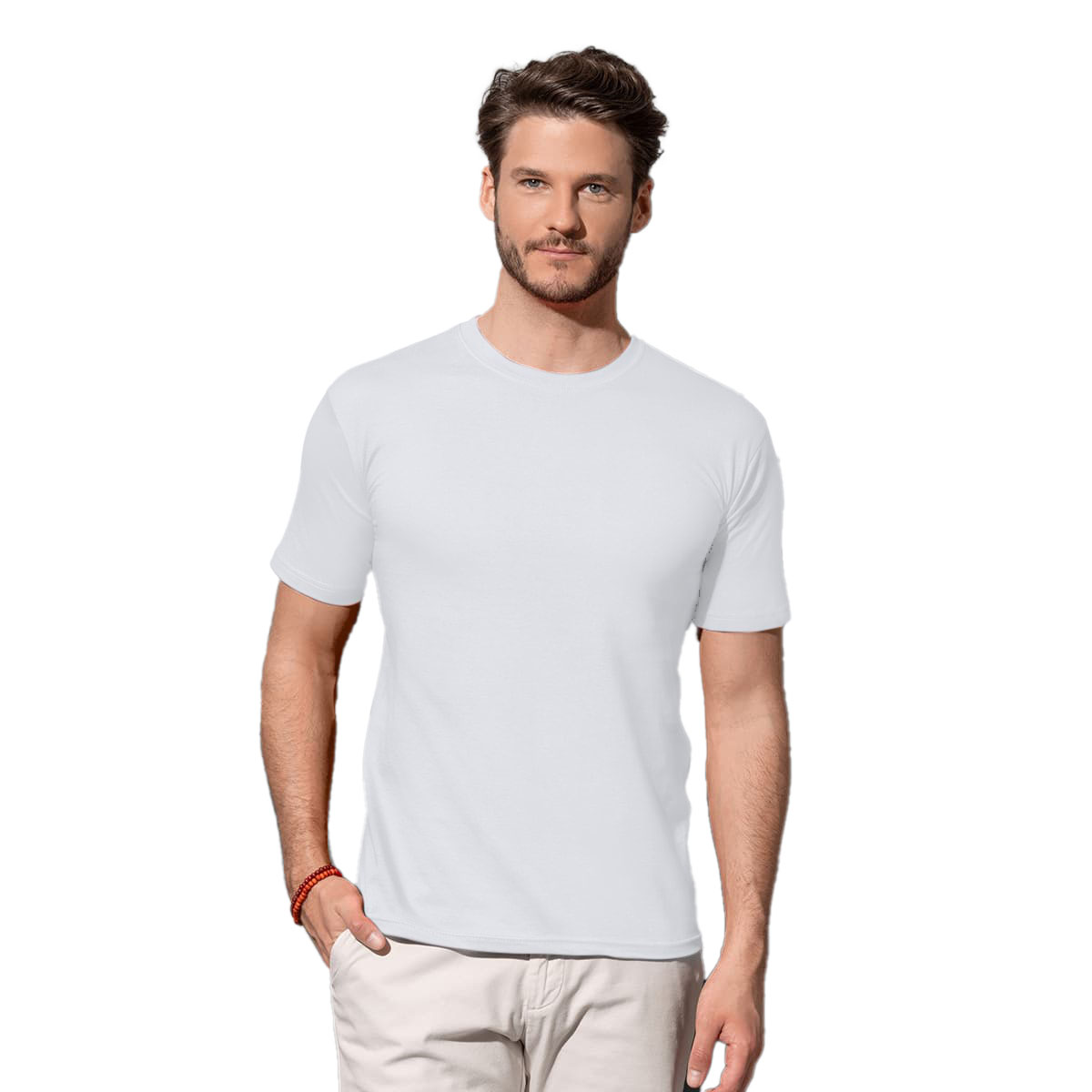 Stedman Mens Classic Fitted Tee (L) (Bright Royal)