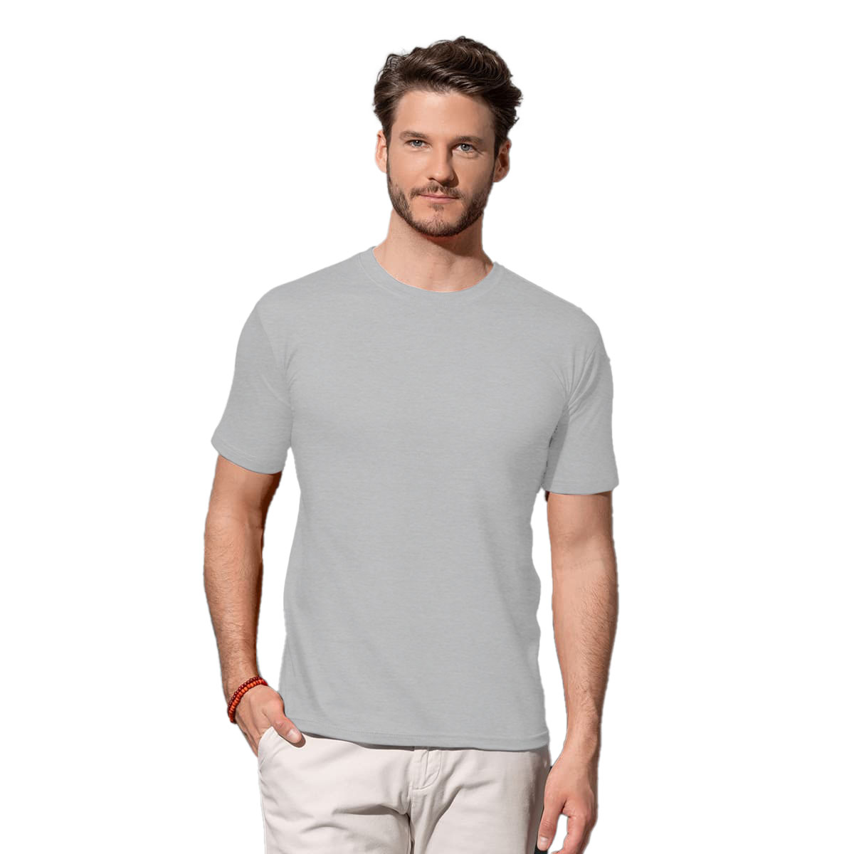 Stedman Mens Classic Fitted Tee (2XL) (Navy)