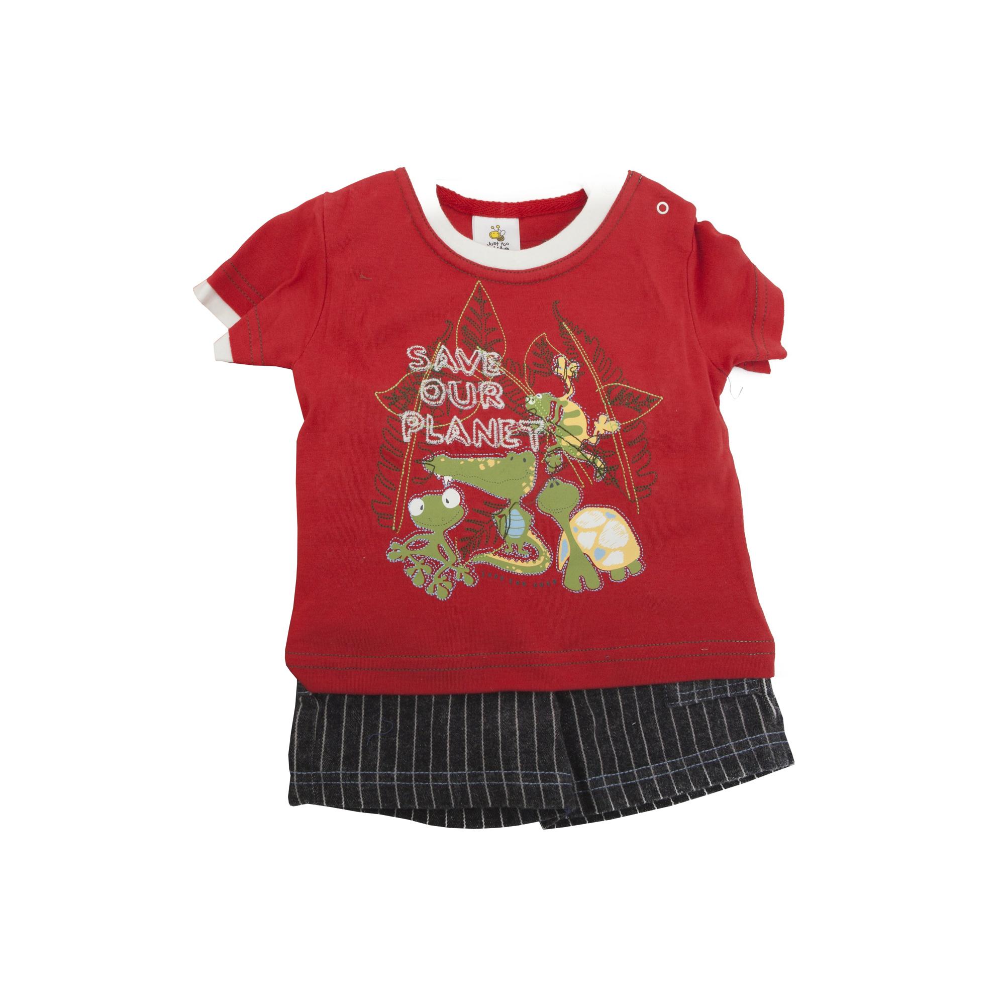 Conjunto-camiseta-de-manga-corta-pantalon-corto-para-bebe-nino-con-BABY172