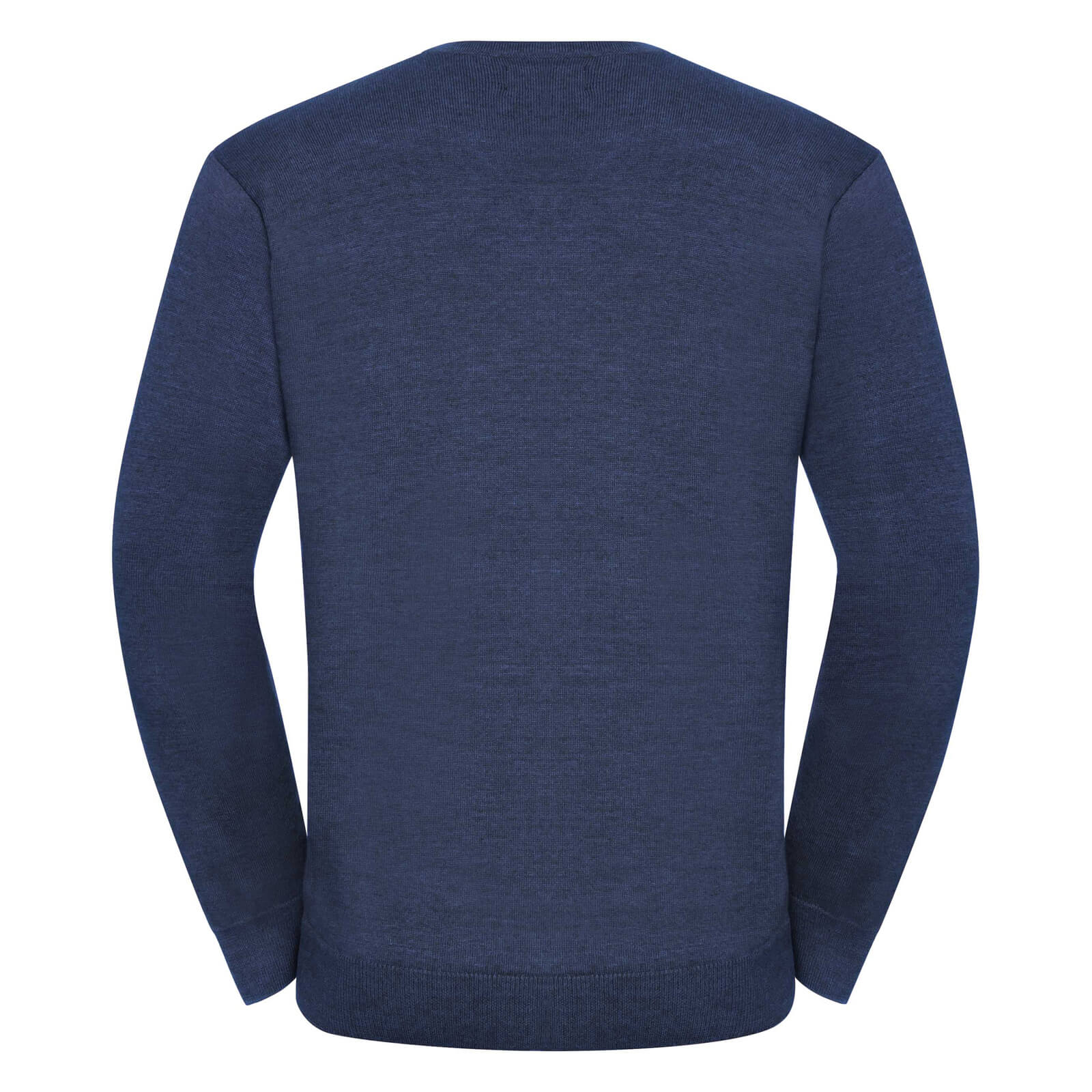 miniature 11 - Russell Collection - Pullover à col en V - Homme (XS-4XL) 2 couleurs (BC1012)
