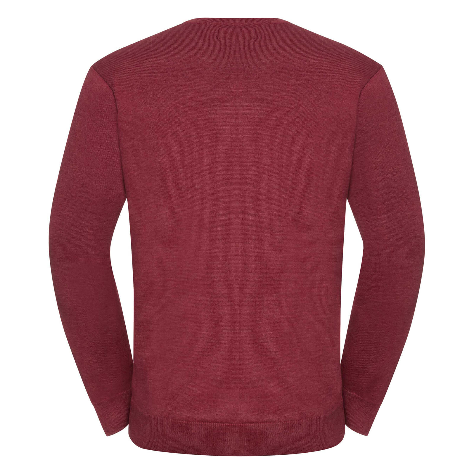 miniature 9 - Russell Collection - Pullover à col en V - Homme (XS-4XL) 2 couleurs (BC1012)